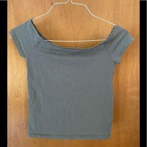 Express Women's Off the Shoulder Shirt